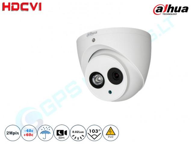 Kupolinė CVI kamera 2Mpix raiška 1200-POC