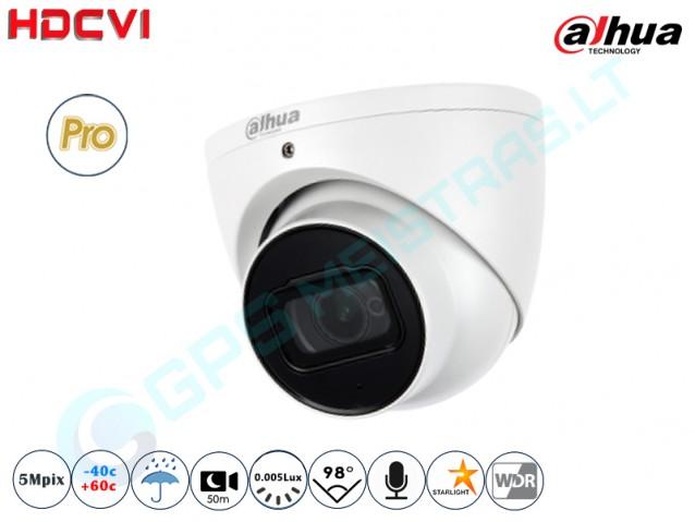 Kupolinė CVI kamera 5Mpix raiška 2501