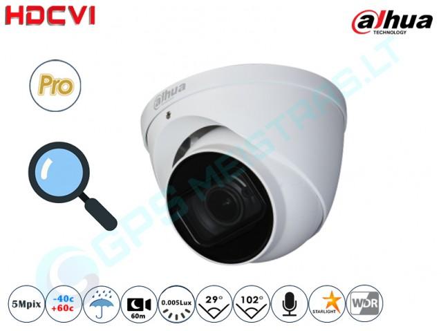 Kupolinė CVI kamera 5Mpix raiška, zoom 4x 2501