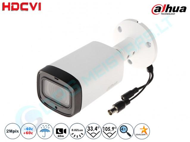 Cilindrinė CVI kamera 2Mpix raiška, zoom 4x 1230 I6
