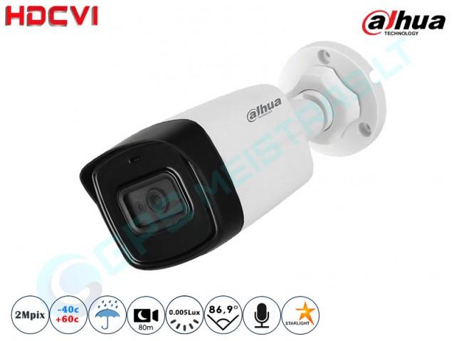 Cilindrinė CVI kamera 2Mpix raiška 1230.