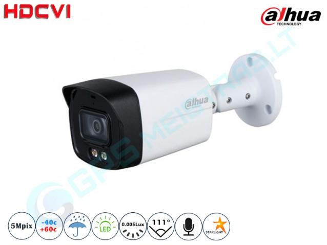 Cilindrinė CVI kamera 5Mpix raiška 1509 LED