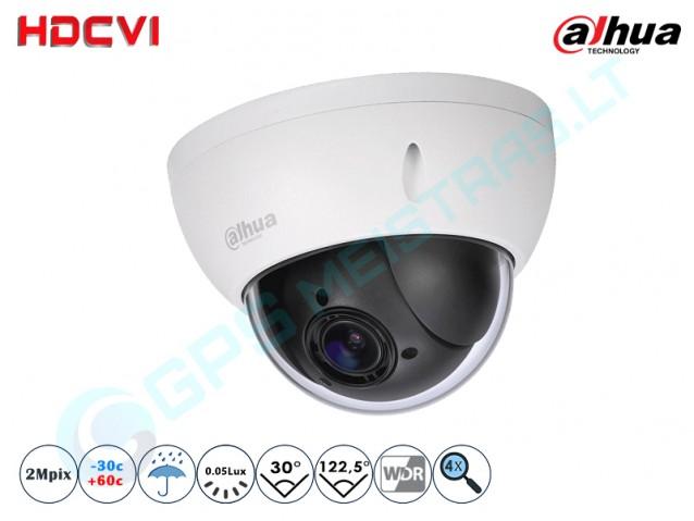 Valdoma HD-CVI vaizdo kamera, 2 MP, zoom 4x 2KLASĖ