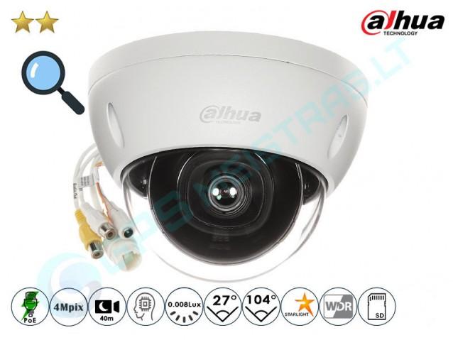 Kupolinė IP kamera 4Mpix raiška, zoom 4x, 2431Z
