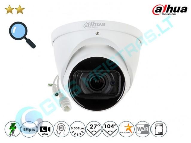 Kupolinė IP kamera 4Mpix raiška, zoom 4x, 2431TZ