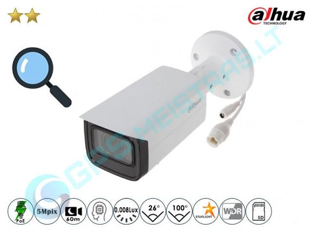 Cilindrinė IP kamera 5Mpix raiška, zoom 4x, 2531FZ