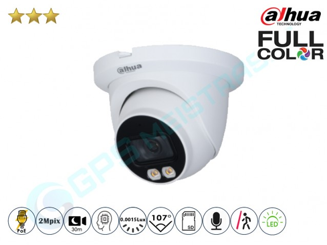 Kupolinė IP kamera 2Mpix raiška, 3249T su LED