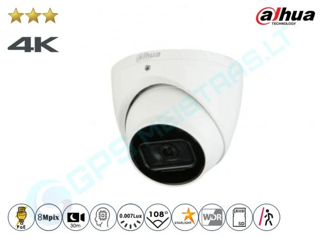 Kupolinė IP kamera 8Mpix raiška, 3841D