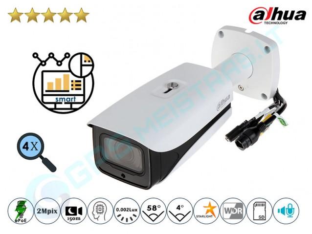 Cilindrinė IP kamera 2Mpix raiška, zoom 4x, IR 150m, 5241Z12