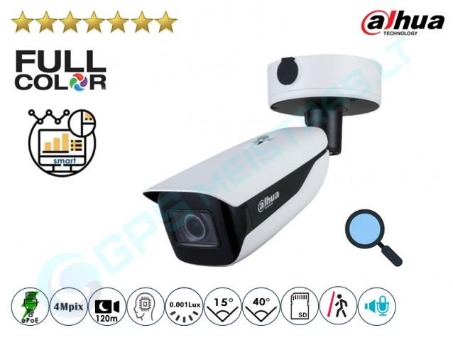Cilindrinė IP kamera 4Mpix raiška, Zoom 4x, 7442Z4
