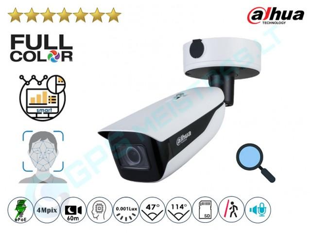 Cilindrinė IP kamera 4Mpix raiška, Zoom 4x, 7442ZFR