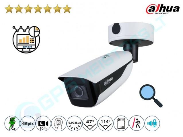 Cilindrinė IP kamera 8Mpix raiška, zoom 4x, 7842Z