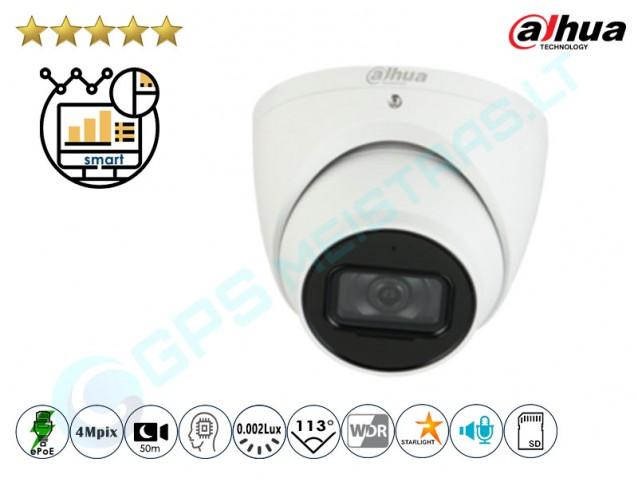 Kupolinė IP kamera 4Mpix raiška, Pro AI, 5442TM