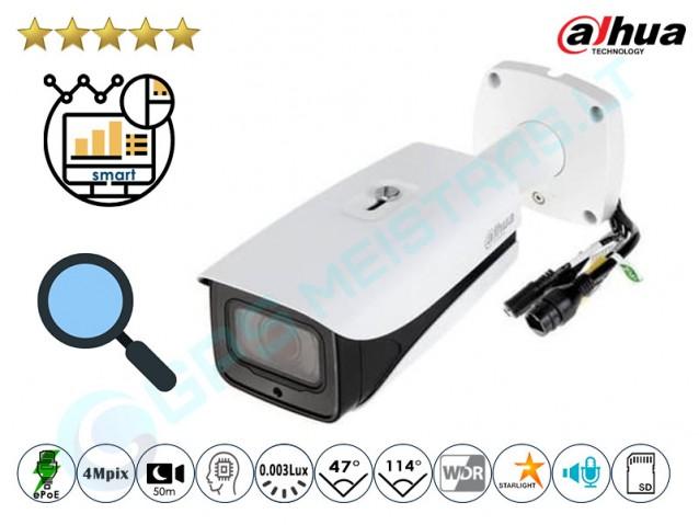 Cilindrinė IP kamera 4Mpix raiška, zoom 4x, Pro AI, 5442ZE