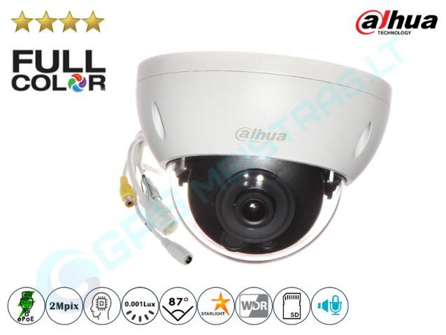 Kupolinė IP kamera 2Mpix raiška, Full Color 4239DB