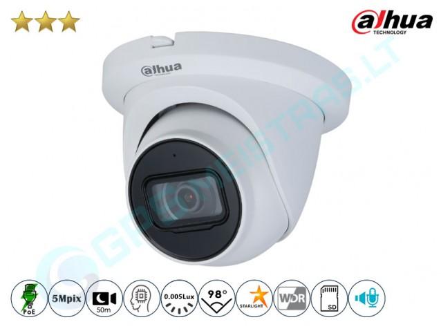Kupolinė IP kamera 5Mpix raiška 3541TM