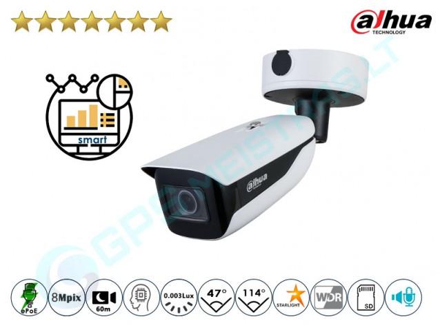 Cilindrinė IP kamera 8Mpix raiška, zoom 4x, 7842
