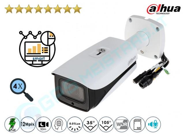 Cilindrinė IP kamera 12Mpix raiška, 4K , zoom 4x, 81230Z