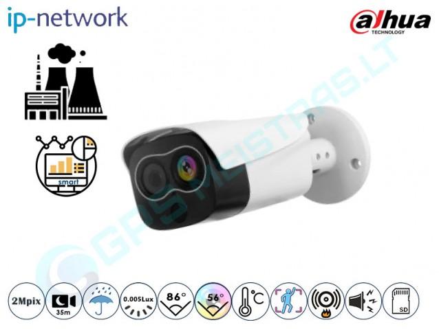 Termovizinė kamera, cilindrinė, 2MP, 4 mm, 2120-T1