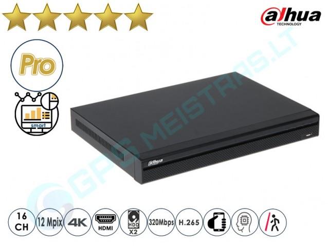 Dahua IP NVR įrašymo įrenginys 5216 4K