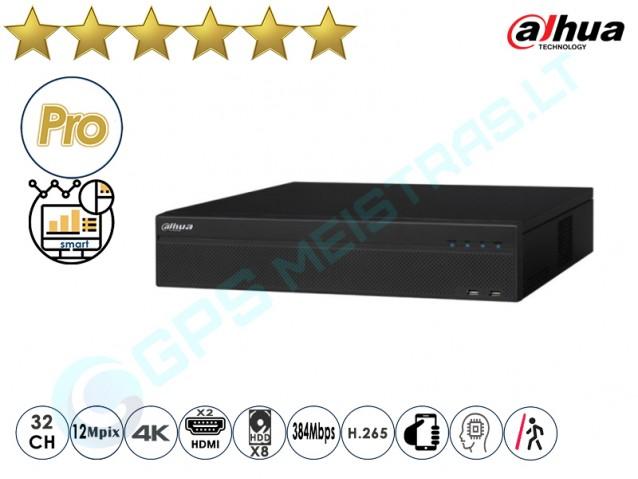 Dahua IP NVR įrašymo įrenginys 608 32 4K