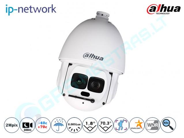 Valdoma IP kamera, 2Mpix raiška, zoom 45x, 6AL245IR