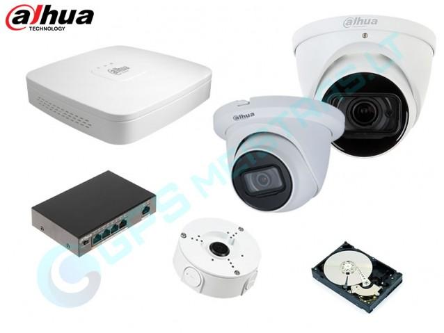 DAHUA IP vaizdo kamerų komplektas 2.2531D