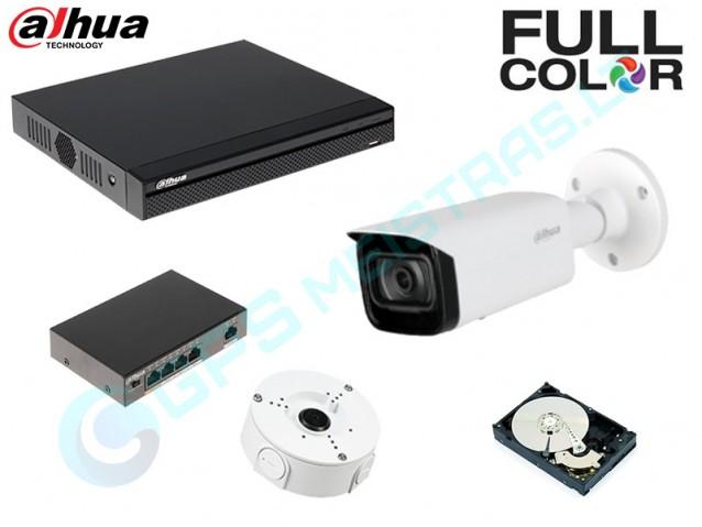 DAHUA IP vaizdo kamerų komplektas 4.5449F