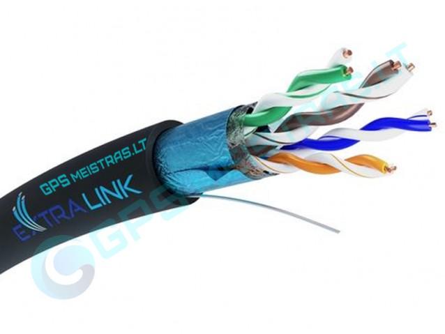 CAT5E FTP V2 lauko, LAN kabelis
