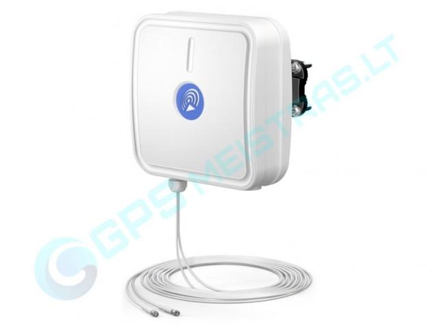 Didelio jautrumo antena 4G LTE routeriams su SIM. Kryptinė