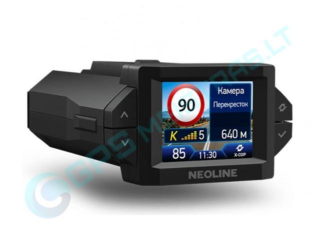 Neoline X-COP 9300s hibridinis registratorius su detektoriumi