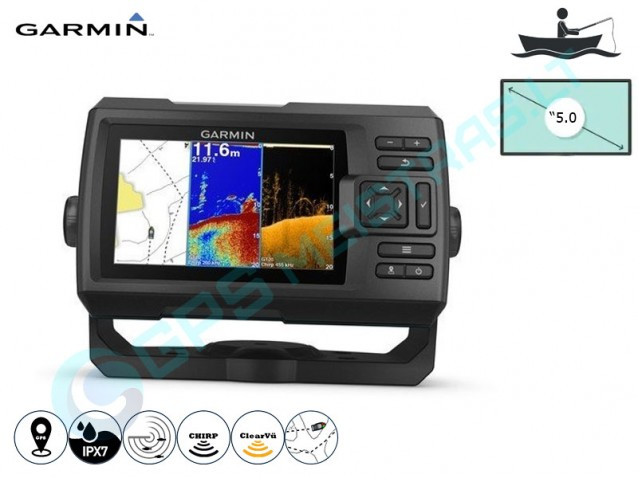 Garmin Striker plus 5cv echolotas