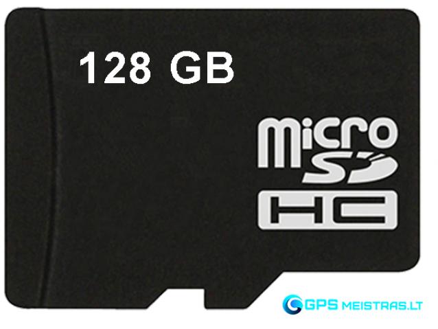 Atminties kortelė 128GB microSD, U3, V30 klasė