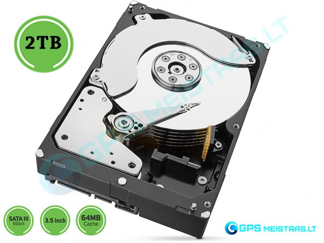 Kietasis Diskas 2TB