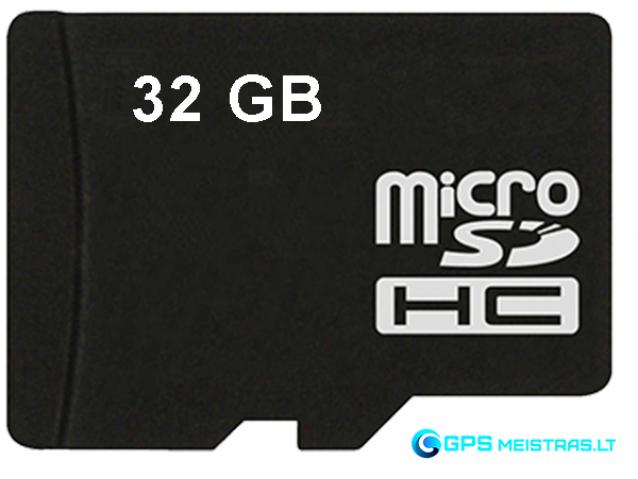 Atminties kortelė 32GB microSD