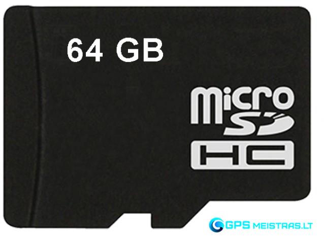 Atminties kortelė 64GB microSD, U3, V30 klasė