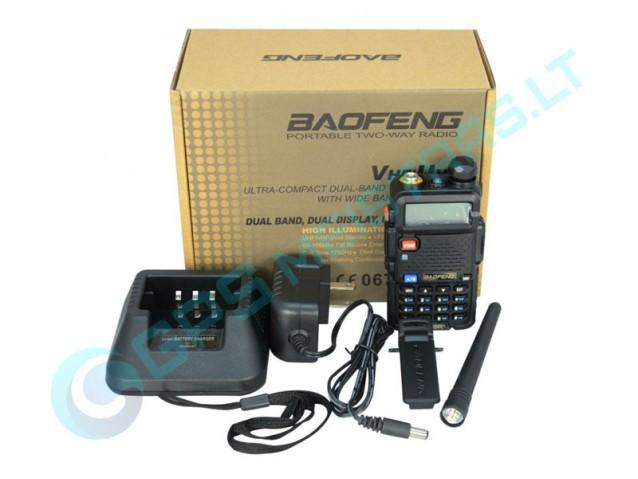 Radijo stotelė Baofeng UV-5R