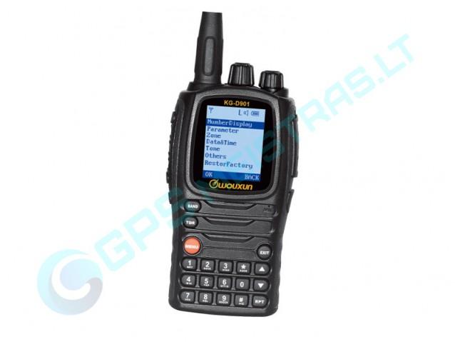 Skaitmeninė radijo stotelė WOUXUN KG-D901