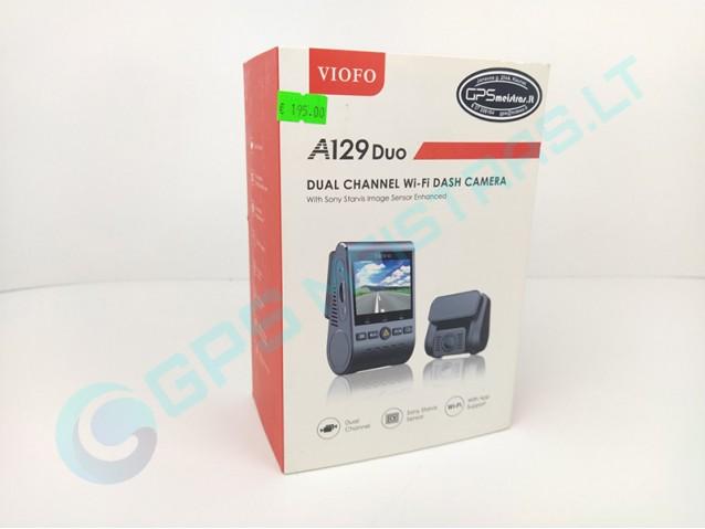 Viofo A129 Duo vaizdo registratorius Ekspozicine prekė