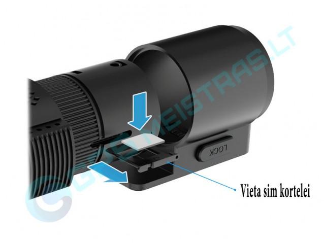 Blackvue DR750S-2CH LTE SIM, P.Korėjos registratorius
