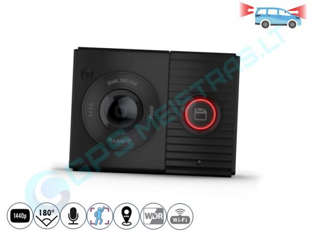 Garmin Dash Cam Tandem 360 laipsnių kamerų registratorius