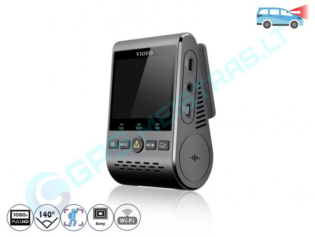 Viofo A129+GPS registratorius