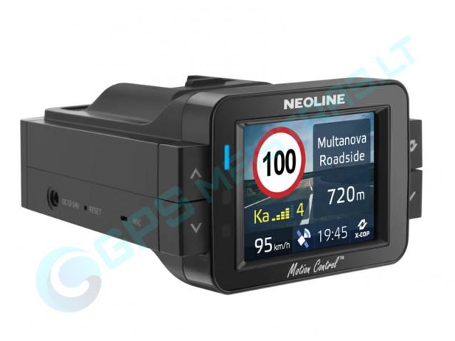 Neoline X-COP 9100s hibridinis registratorius su detektoriumi