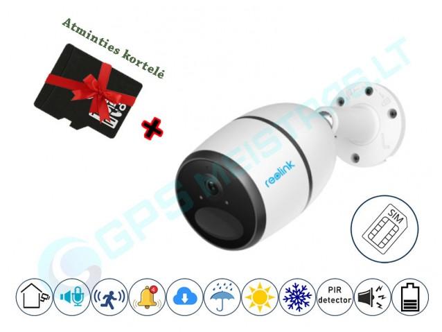 Reolink 4G kamera su SIM ir baterija