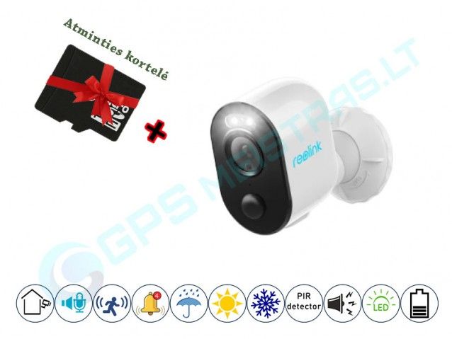 Reolink WiFi kamera su baterija Argus 3