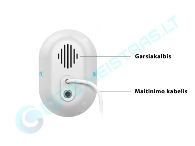 Reolink WiFi vaizdo kamera Lumus, LED