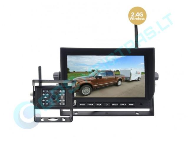 WiFi galinio vaizdo kamera sunkvežimiams, žemės ūkio technikai
