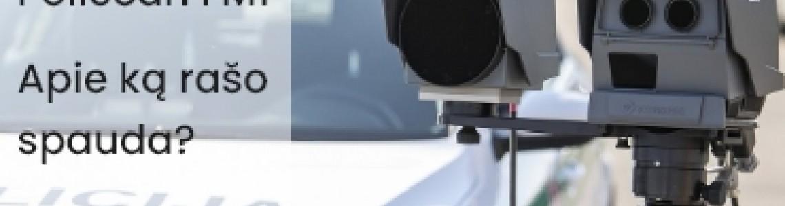 Lazeriniai matuokliai PoliScan FM1. Apie ką rašo spauda?
