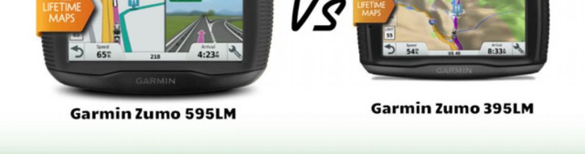 Garmin Zumo 395LM ir 595LM - naujos kartos motociklinės navigacijos profesionalams