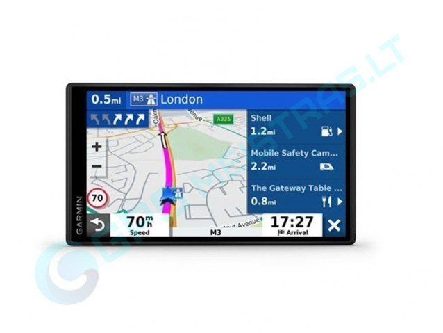 Garmin  DriveSmart 55MT-D navigatorius, Hi-End